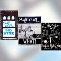 A SET OF THREE SOFT CELL POSTER PRINTS